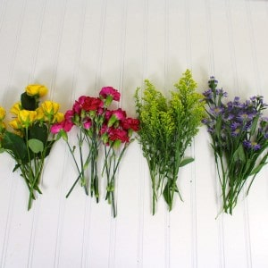 Easy Flower Arrangement Tutorial 1 Easy Flower Arrangement Tutorial 2