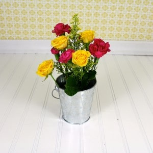 Easy Flower Arrangement Tutorial 6