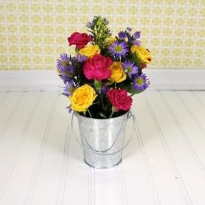 Easy Flower Arrangements easy flower arrangement tutorial