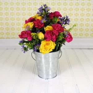 Easy Flower Arrangement Tutorial 8