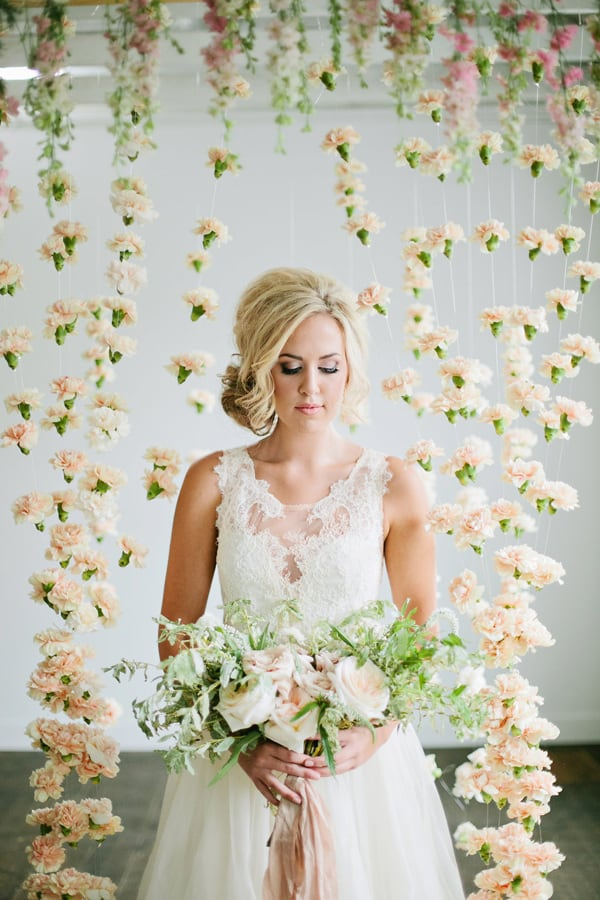 Ruffled - photo by http://lindseyortonphotography.com/ - http://ruffledblog.com/romantic-bridal-inspiration-shoot/