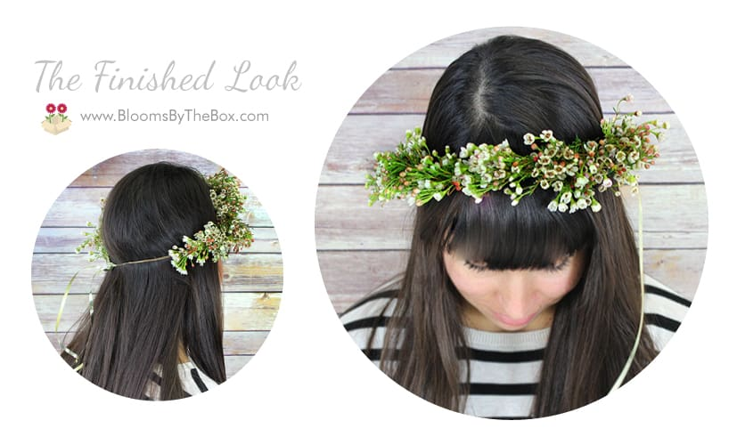 DIY Floral Crown - Full tutorial