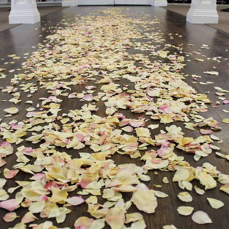 how many petals do i need aisle