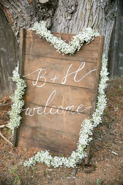 ways to use babys breath garland