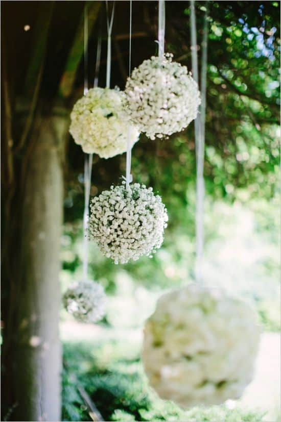 ways to use babys breath globe
