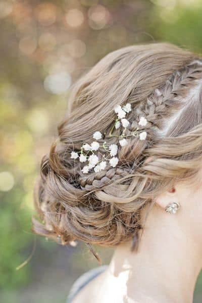 ways to use babys breath hair