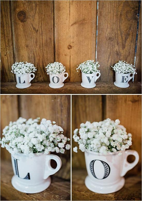 ways to use babys breath mugs