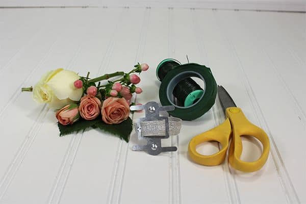 how to make a corsage 1
