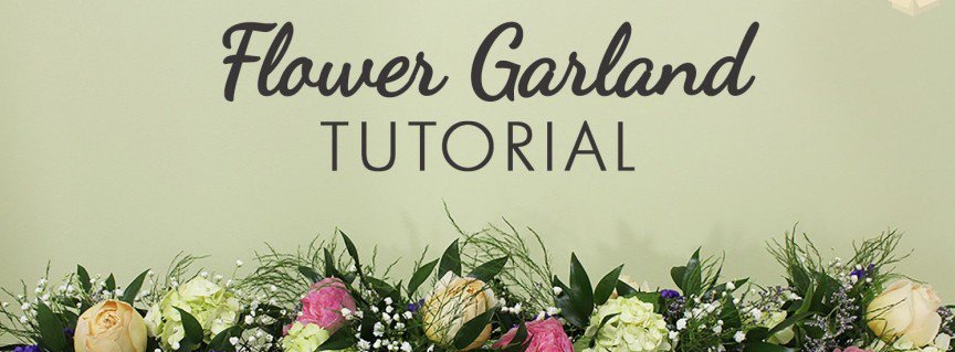 Flower Garland Tutorial