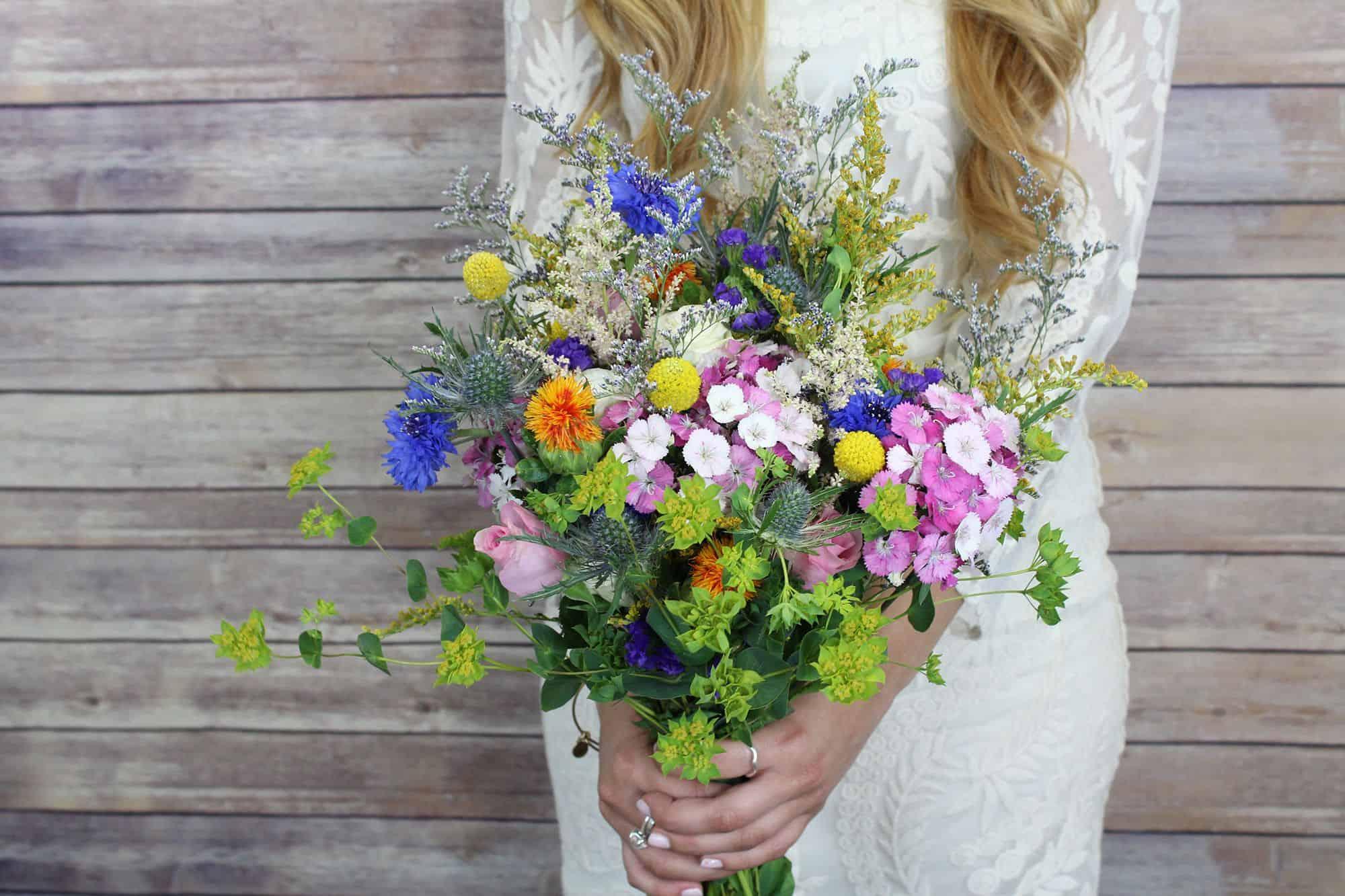 wildflower bouquet 2000