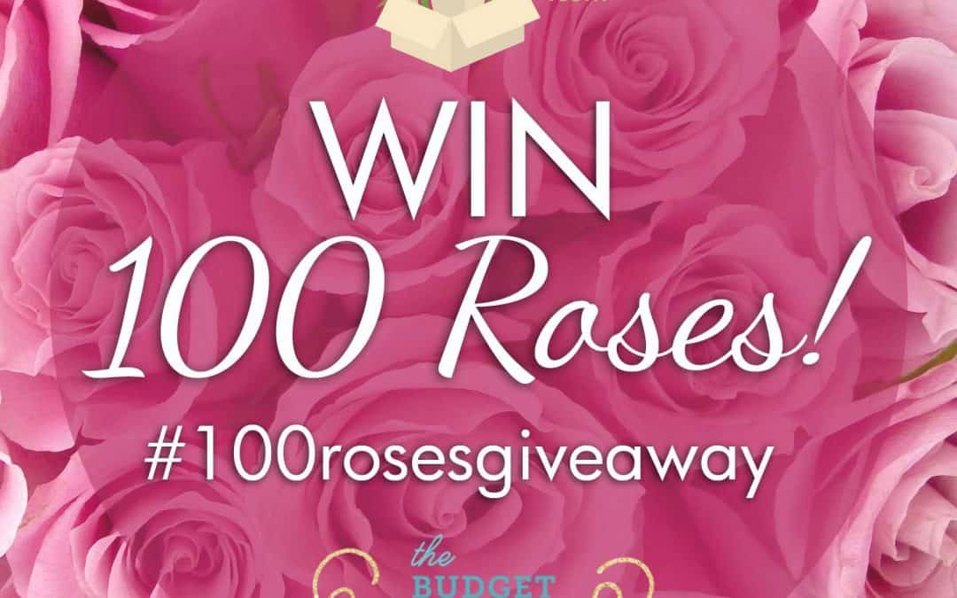 100 Roses Giveaway Winners!