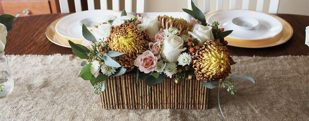 DIY Thanksgiving Centerpiece Tutorial