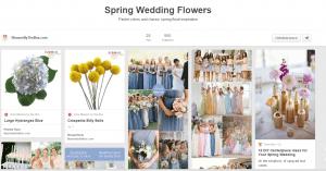 Wedding flowers by season: Spring