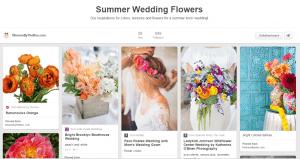 Wedding Flowers by Season: Summer