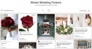Wedding Flowers by Season: Winter