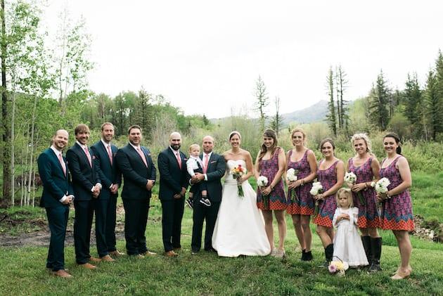 Springtime Colorado Wedding