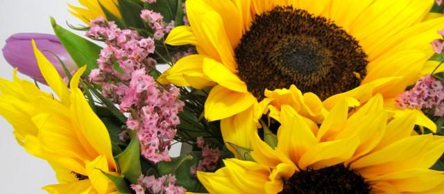 Sunflower Bouquet Tutorial