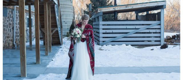 A Winter Wedding Featured on Wisconsin Bride