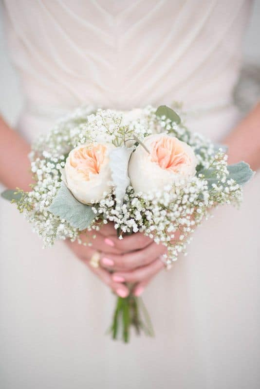 Peach and Mint Bouquet Recipe - Budget Friendly Beauty