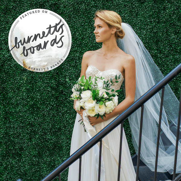 Blooms Styled by Little Vintage Rentals Featured On Burnett's Boards