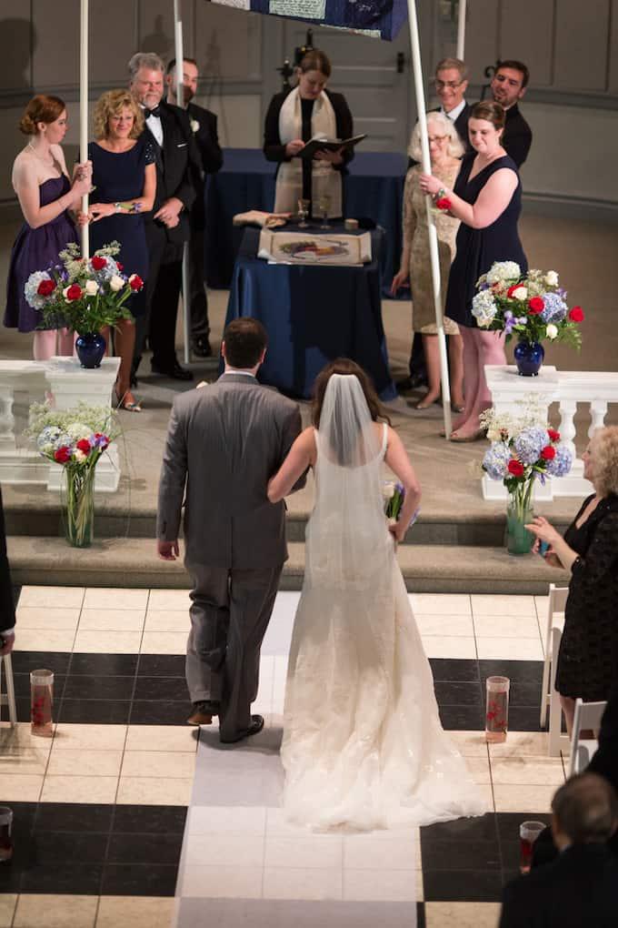Bold and Bright Wedding