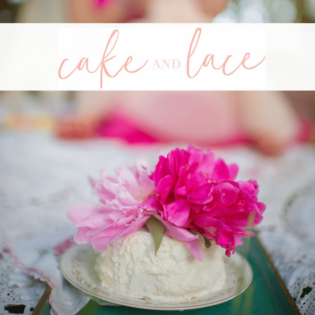 Featured on Cake and Lace pretty in pink tea party