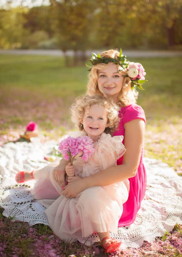 Featured on Cake and Lace pretty in pink Park tea party