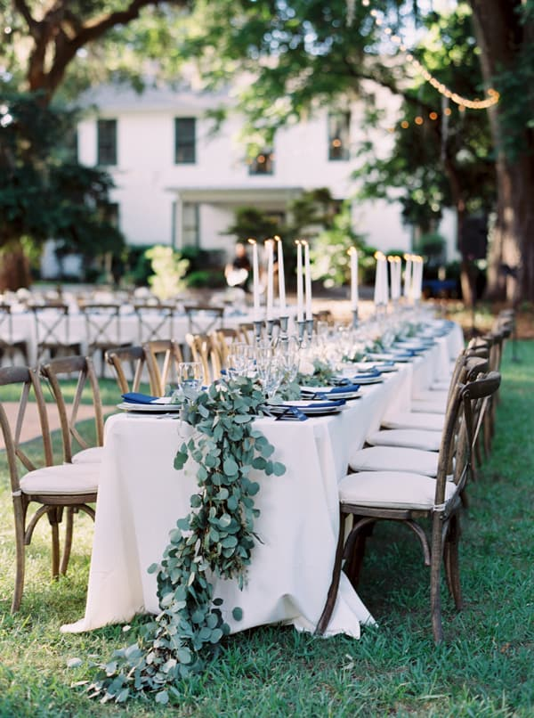 Featured on Southern Weddings and photographed by Cassidy Carson Photography