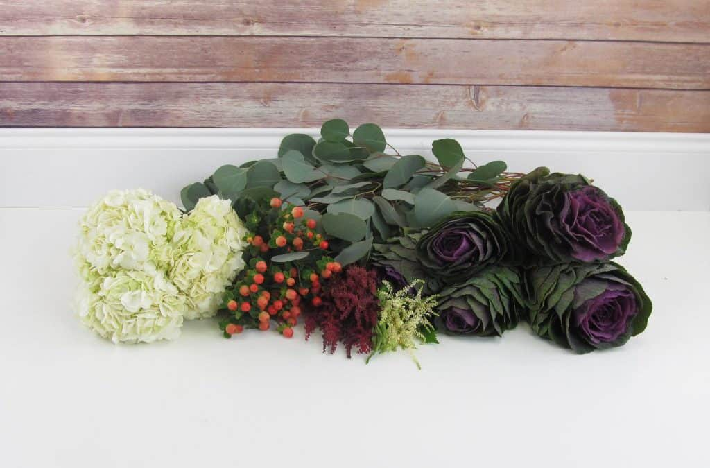 Autumn to Winter DIY Bouquet Tutorial