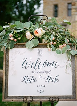 Featured on The Knot and photographed by Jeff Loves Jessica Photography.