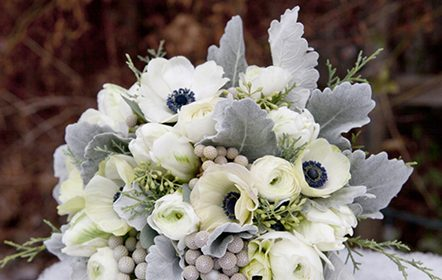 Recipe of the Week: Winter Whites and Blues Bouquet