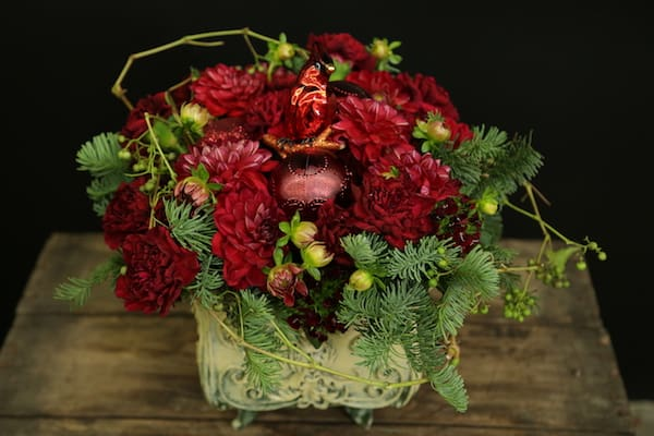 Create Floral Arrangements in Shades of Red