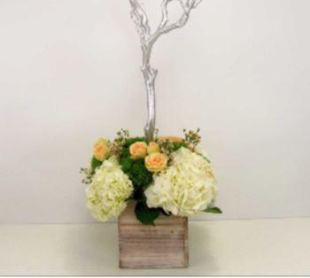 DIY Manzanita Branch Centerpiece