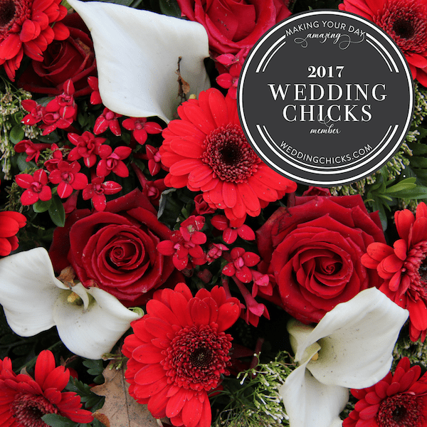 Featured on Wedding Chicks as Go-To Wedding Vendor