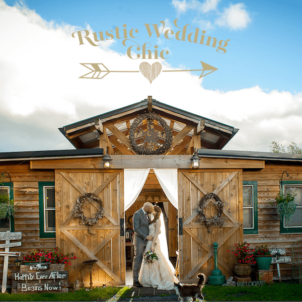 Farm Wedding Featured on Rustic Wedding Chic