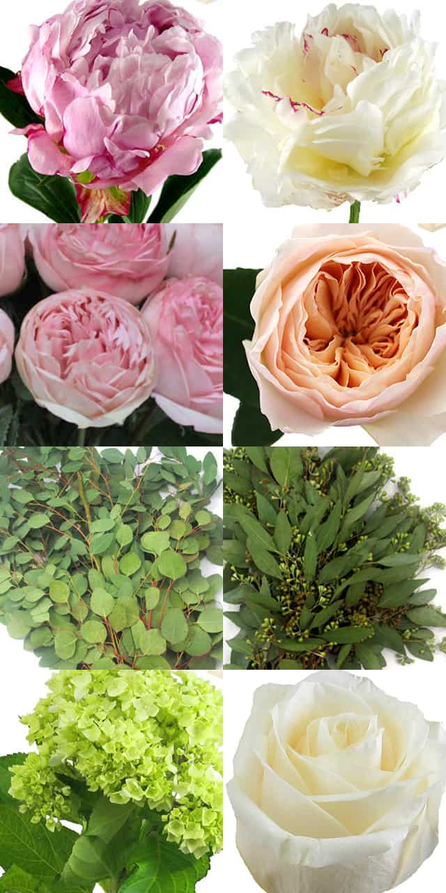 Blooms By The Box's Save or Splruge - Peony & Rose Bouquet