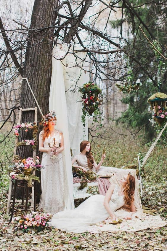 Enchanted Forest Wedding Budget Friendly Beauty