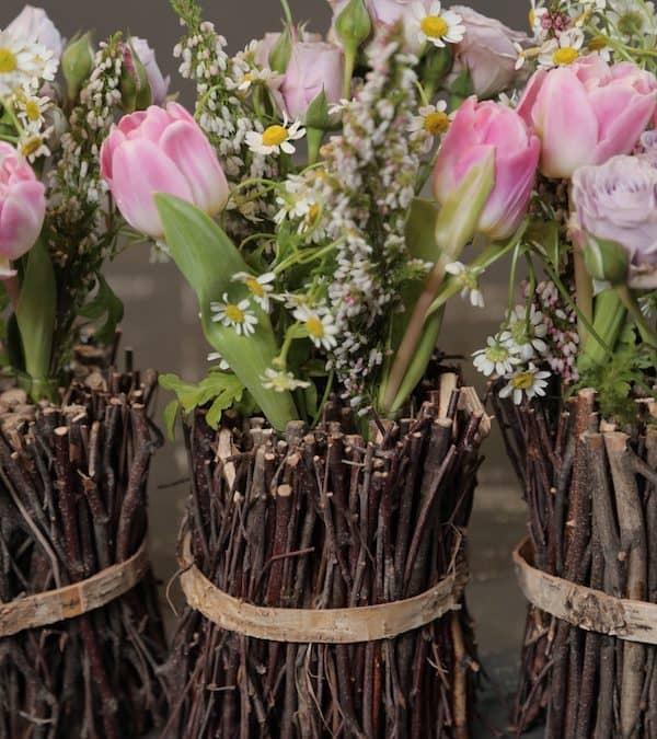 Spring Trio Floral Arrangements by Eddie Zaratsian