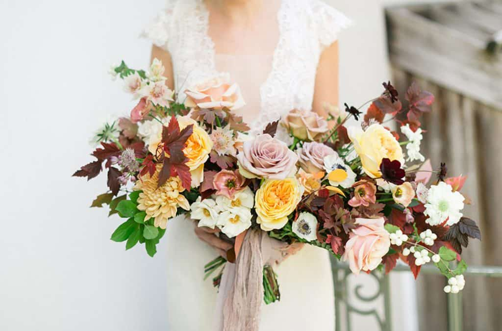 Flowers to Pair with Your DIY Wedding Theme