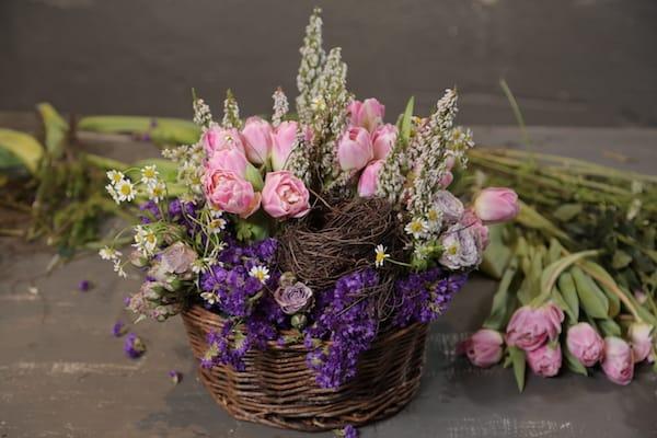 Eddie Zaratsian, Floral Pack, Flower Tutorials, Spring nest