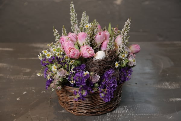 Floral Packs, Eddie Zaratsian, Blooms By The box, Tulips, Flower Arrangement, Wedding