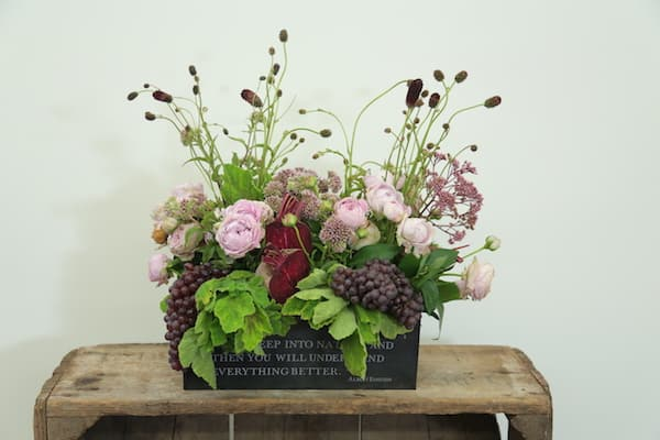 Grape, Floral arrangment, Eddie Zaratsian, Bloomsbythebox