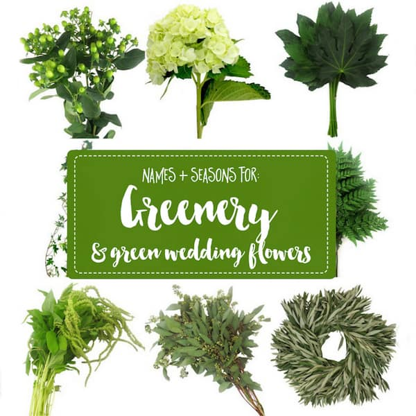 Greenery, Green Wedding, Bloomsbythebox. Confetti Day Dreams