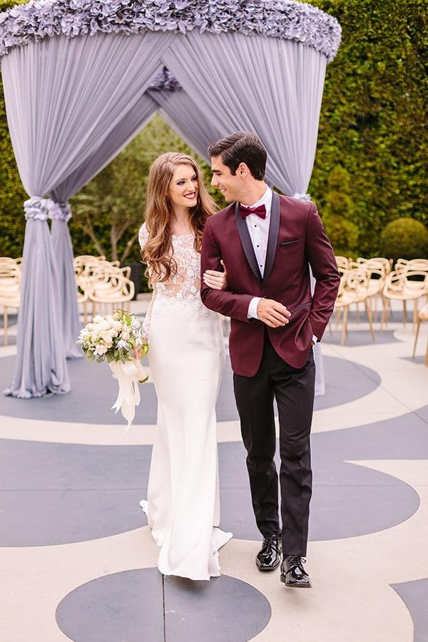 Hollywood Wedding, Luxury Wedding, Red Wedding, Bride, Groom, Bridal Bouquet, White Wedding Flowers, Wedding Inspiration