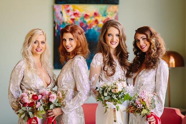 Hollywood Wedding, Luxury Wedding, Red Wedding, Wedding Inspiration, Bridesmaids