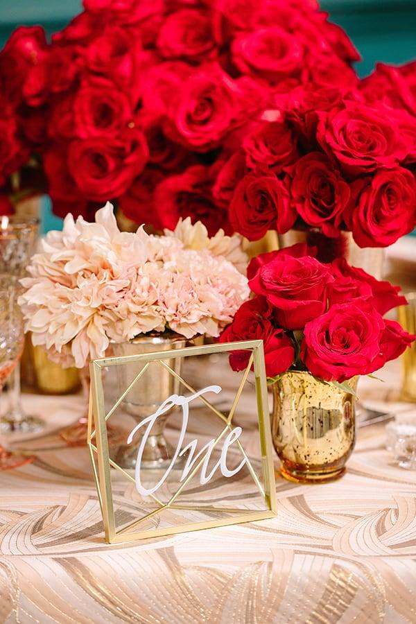 Hollywood Wedding, Luxury Wedding, Red Wedding, Tablescape, Wedding Inspiration