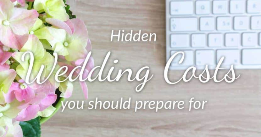 Hidden Wedding Costs to Prepare For