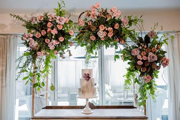 Flowers, Wedding Cake, The Sketchbook Series, Blooms By The Box, Eddie Zaratsian, Blooms By The Box Flowers