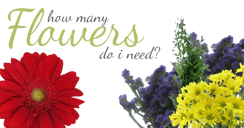 How Many Flowers Do I Need For My Arrangement?