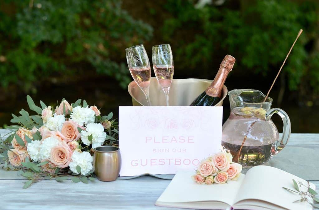 Garden Wedding Inspiration featured on Budget Savvy Bride